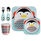 Skip Hop Zoo Winter Feeding Set, Picasso Penguin