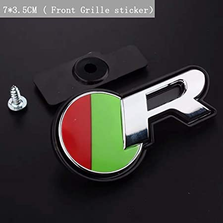 1x Metal Sports Style Car Trunk Emblem Badge Sticker Decal 3D Trims Accessories