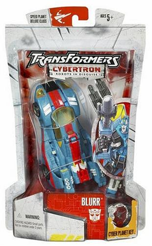 Cybertron Transformers Hasbro (Blurr - Transformers Cybertron Deluxe)