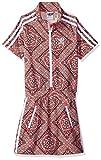 adidas Originals Big Girl's Originals Graphic Dress Dress, Multi/White, XS