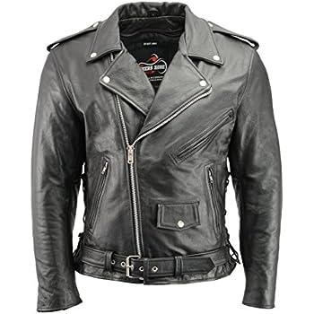 4a278330b2e Amazon.com  MILWAUKEE LEATHER Men s Classic Side Lace Police Style ...