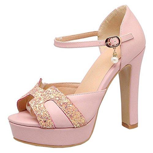 Talons Les Femmes Les Pink Taoffen Femmes Hauts Escarpins À TzBnW4qSxw