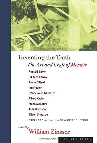 Inventing the Truth: The Art and Craft of Memoir (Tapa Blanda)