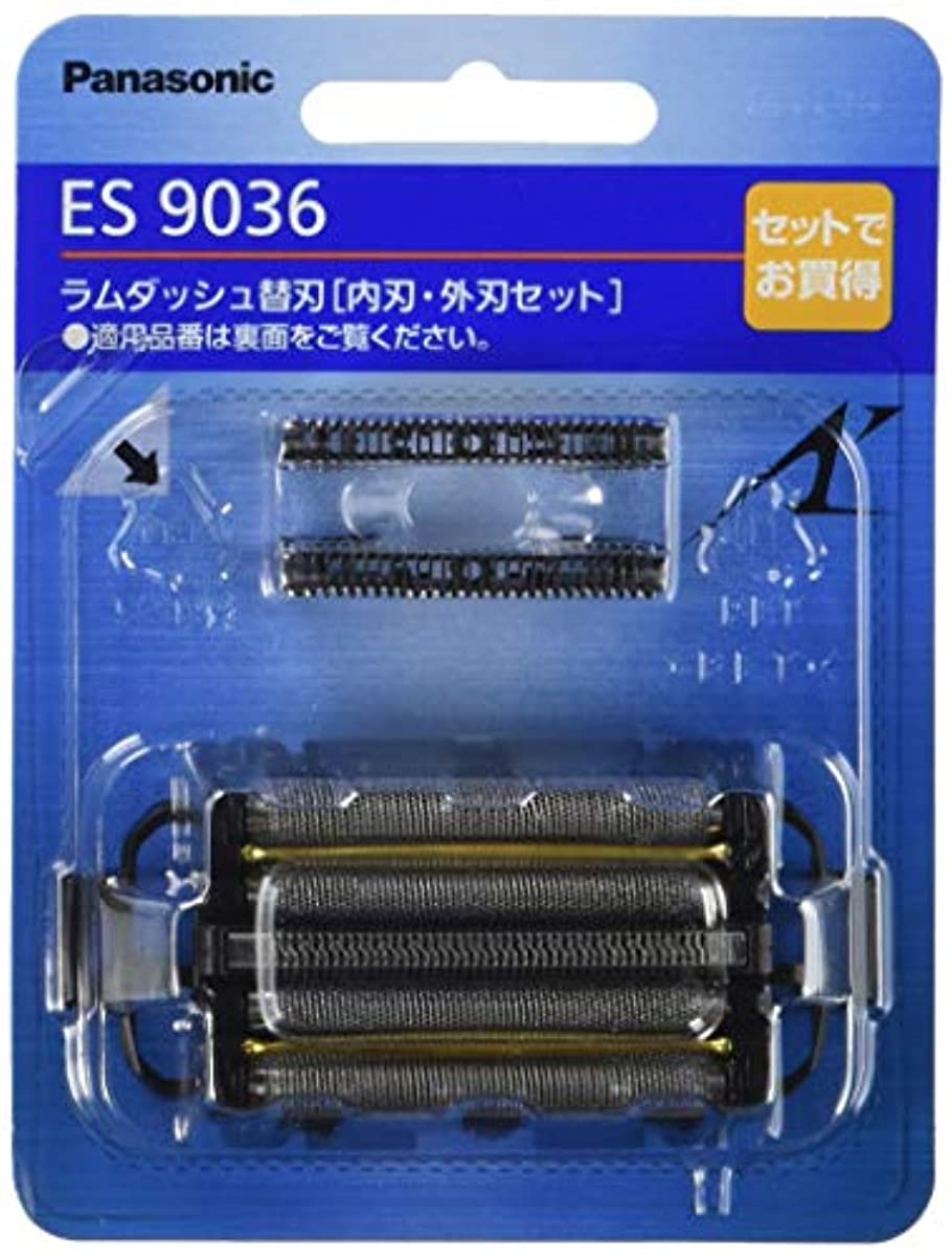 [해외] 파나소닉 면도날 맨즈 쉐이버용 세트 ES9036