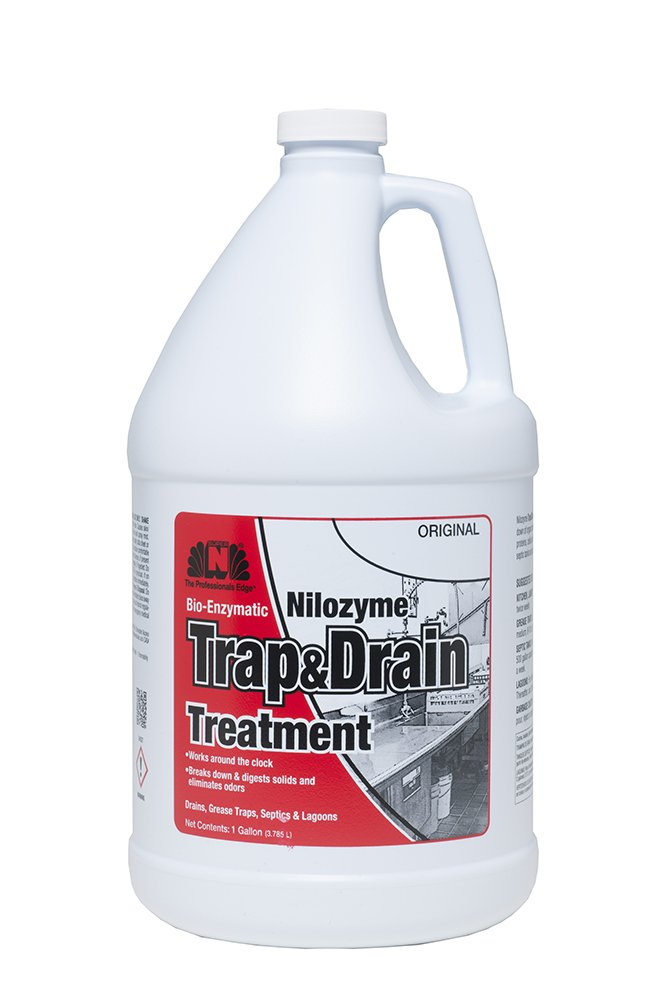 Nilodor 128 ZNM Nilozyme Trap and Drain Treatment, 1 gal