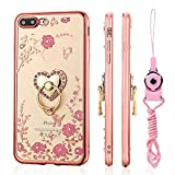 iPhone 8 Plus Case, iPhone 7 Plus Case, [LuckQR] Ultra Thin...