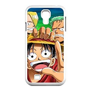 ONE PIECE Samsung Galaxy S4 9500 Cell Phone Case White kzo onec