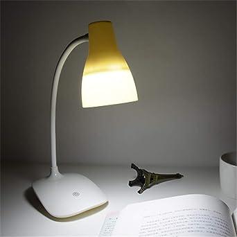 Lámpara De Escritorio Led Lámpara De Mesa Luz Led Con Usb ...