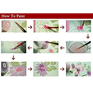 [Frameless] Diy Oil Painting Paint By Number Kit Picture-W207 Christmas Gift 16*20 inch