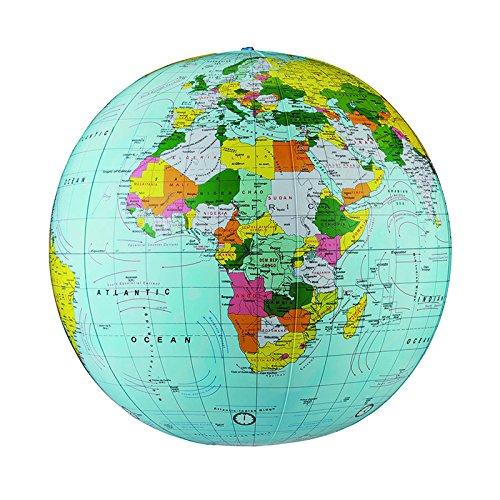 REPLOGLE GLOBES POLITICAL-INFLATE GLOBE 16 ES 16 (Set of