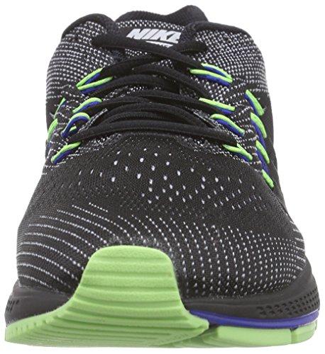 Nike Air Zoom Vomero 10 - Zapatillas para hombre Negro (black/wolf grey/ghost green/gym royal)
