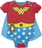 DC Comics Baby Girls' Bodysuit and Cape - Wonder