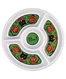 Bethany Lowe Designs Halloween Sassy Cat andDip Platter