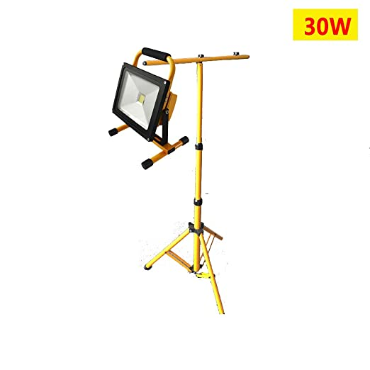 dami Foco LED Proyector, Camping 30W, LED Impermeable,Soporte ...