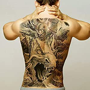 Handaxian 2pcs Pegatinas de Tatuaje para Hombres Body Art ...