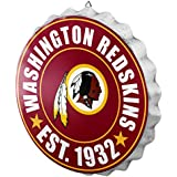 FOCO Washington Redskins NFL Bottle Cap Wall Sign