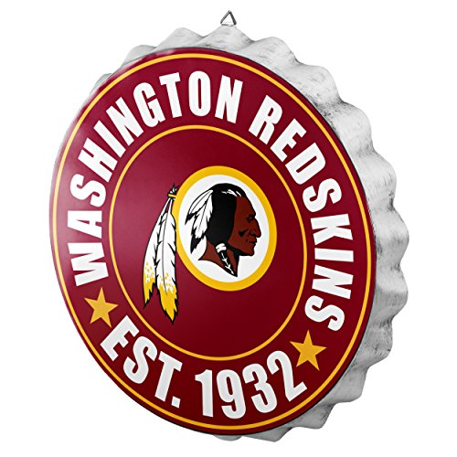 Washington Redskins 2016 Bottle Cap Wall Sign (Redskins Sign Washington)