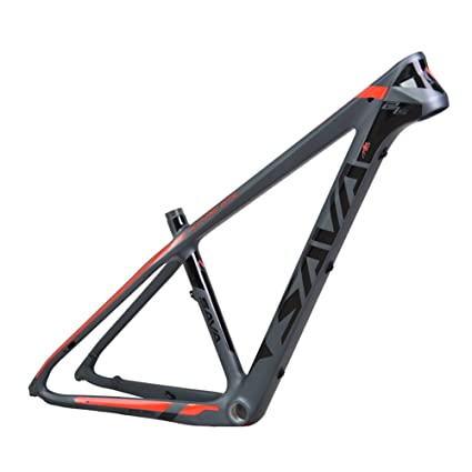 Amazon.com : SAVADECK Carbon Bike Frame Full T800 Carbon Fiber MTB ...