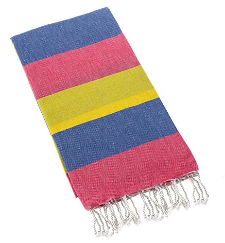swan-comfort-100-cotton-pestemal-turkish-bath-towel-39-x-70-blue-red-yellow