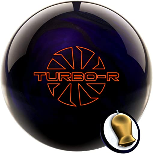 Ebonite Turbo R Purple Black Bowling Ball