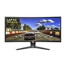 BenQ XR3501 35-Inch Curved Screen Led-Lit LCD Monitor