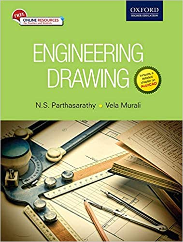 Cover Art for Engineering drawing Oxford University Press