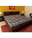 Ira Double Bed Medium Soft Cotton Mattress (4 Inch)