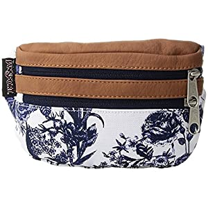 JanSport Hippyland Waistpack (White Artist Rose)
