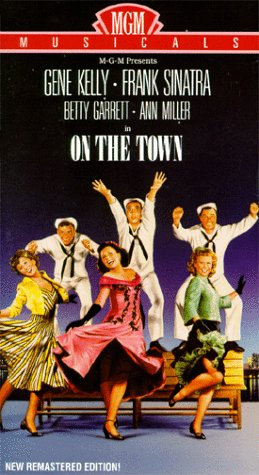 UPC 027616722430, On the Town [VHS]