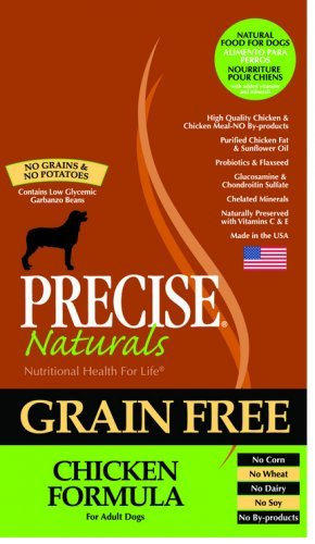 Amazoncom Precise Naturals Grain Free Chicken Dry Dog Food 28 Lb