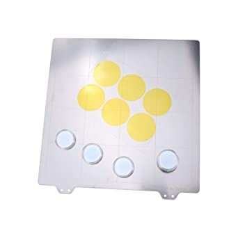 iplusmile 220x220MM Accesorios de impresión 3D Prusa i3 Plataforma ...