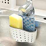 Binmer(TM) Sink Shelf Soap Sponge Drain Rack Bathroom Holder Kitchen Storage Suction Cup (A)