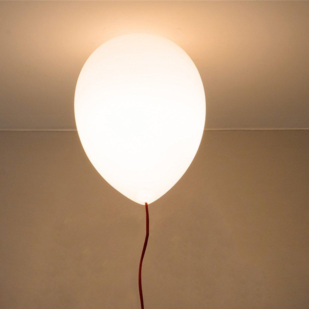 Modernes lustres en style simple,vacances Plafonnier,Colorful ballon Lampe de plafond,chambre d'enfant,1 X E27, Ø 25 cm,6 Couleur (Jaune, blanc, orange, rouge et,vert,bleu) chambre d' enfant