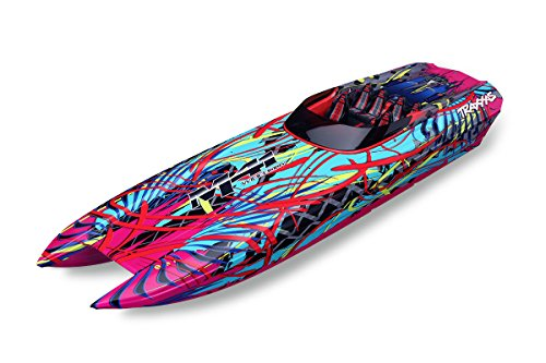 Traxxas DCB M41 Brushless Catamaran Boat with TQi 2.4 GHz Radio and TSM