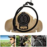 Outdoor 1.5L Hydration Bladder Water Bag Sports Accessory for Hiking Cycling Camping
