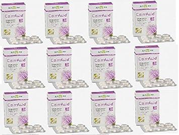 Biosline - calmacid 12 paquetes de 20 Tabletas, iperacidità, gastriti, pirosi: Amazon.es: Salud y cuidado personal
