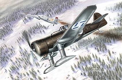 Xxi Finnland Version /'Hi-Tech/' #72526 Mpm 1//72 Fokker D