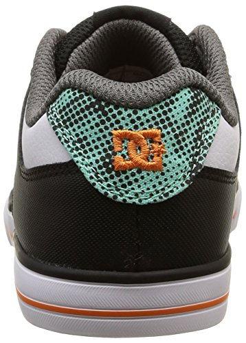 DC Shoes Pure Elastic B - Zapatillas de deporte Niños Multicolor - Multicolore (Black/White/Blue)