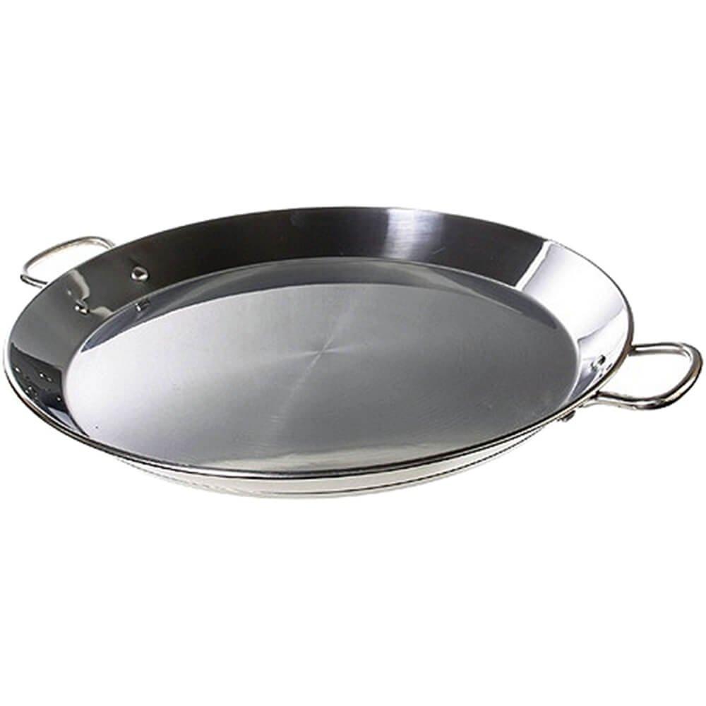 Matfer Bourgeat Stainless Steel Paella Pan, 12.5'' 070990