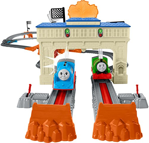 Thomas & Friends Fisher-Price TrackMaster, Thomas & Percy's Railway Race Set - Buy Online in UAE ...