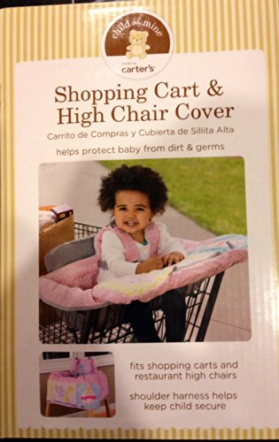 Carters Child Shopping Chair Cover