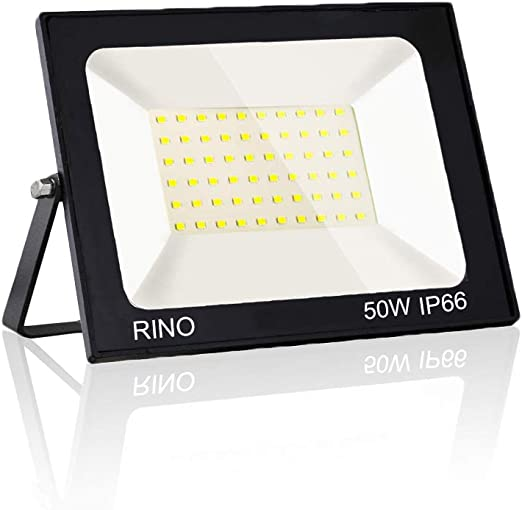 Rinoye 50W LED Foco exterior,Proyector Foco LED para Exterior ...