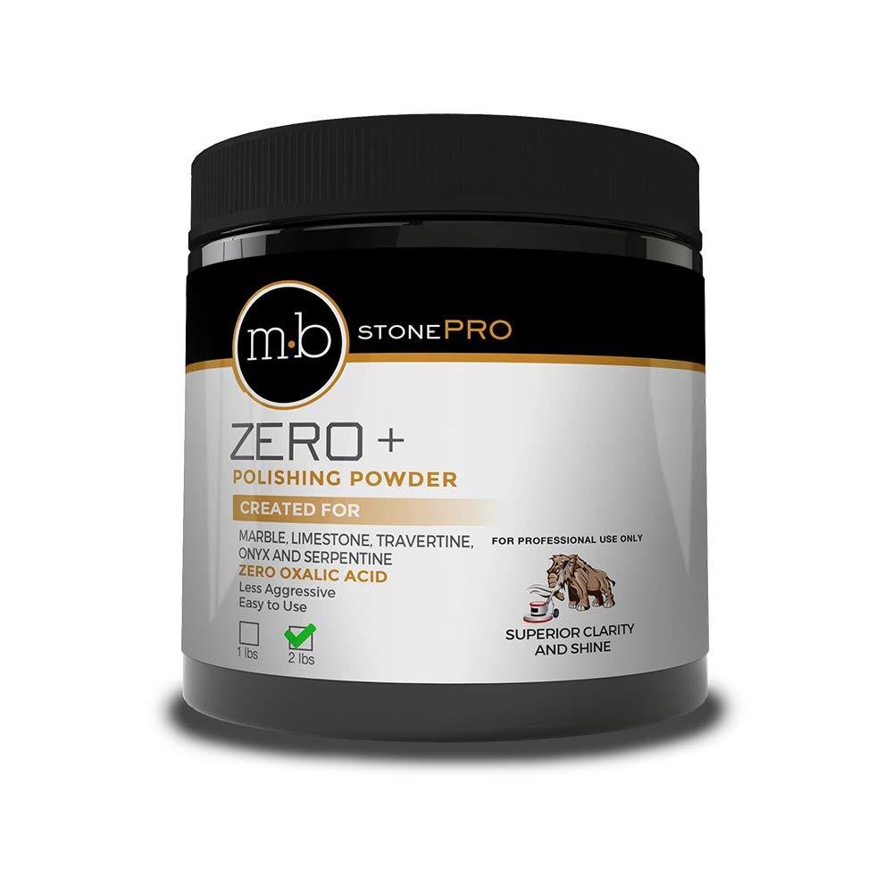 MB Stone Care MB Zero Polishing Powder With Zero Oxalic Acid - 2 lbs. by MB Stone Care