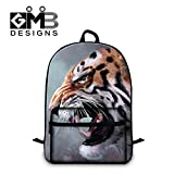 Generic Animal Print School Backpack for Teen Boys Mens Fashion Laptop Computer BackPack