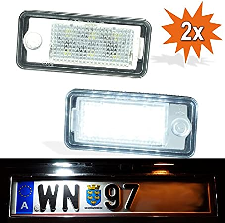 Do Led Pax 3528 Smd Led Kennzeichenbeleuchtung Auto
