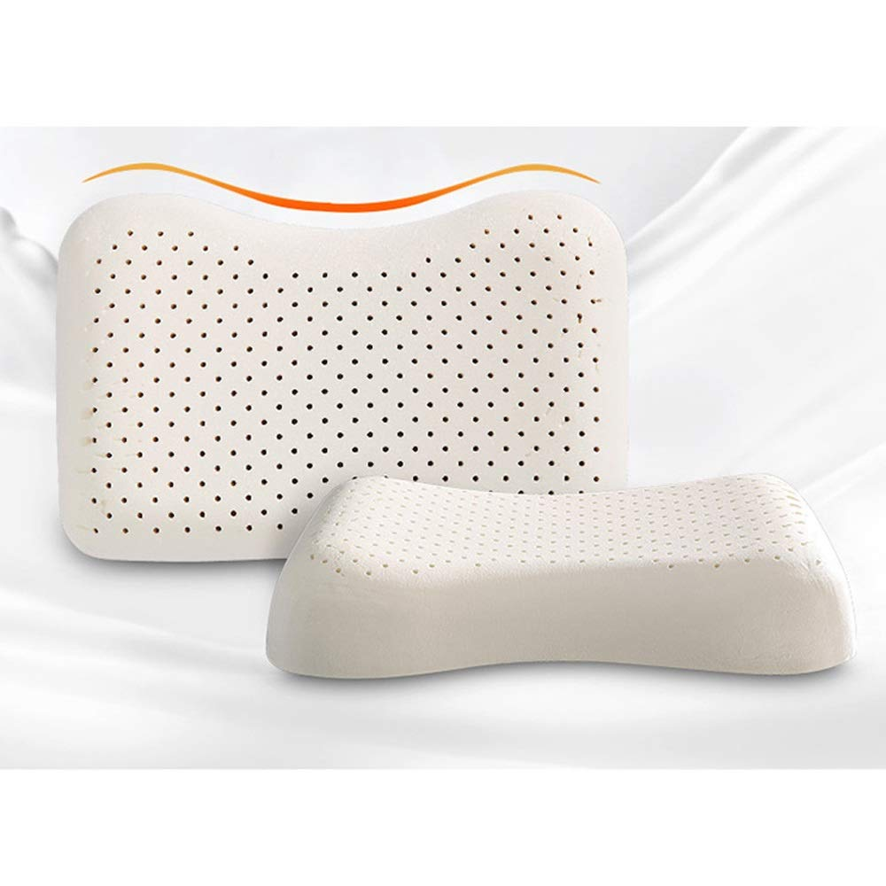 WTGG-Home Textile Latex Pillow - Beauty Pillow High-Elastic Latex Pillow Support Cervical Pillow core Breathable Rubber Pillow Adult Single Pillow /& by WYGG (Image #5)