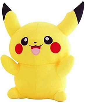 BIG SHOPEE Pikachu Plush Soft Toys for Kids. Love Girl & Boy Yellow Color (Size-40 cms)