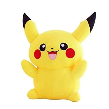 Bond and emotion Soft Plush Pikachu Toys for Kids (Yellow, Size-40 cm)