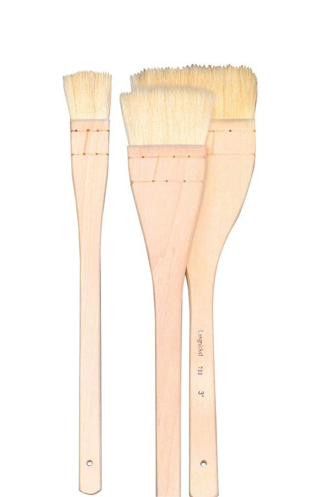 Royal Brush RART-115 Langnickel Large Area Brush Set, Chinese Hake Brushes (Pack of 3), Cream
