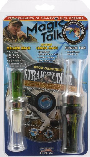 - Buck Gardner Magic Talk Mallard Canada Combo Pack